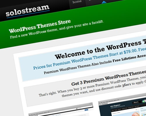 Free and premium WordPress themes for business or personal websites, blogs and online magazines.
