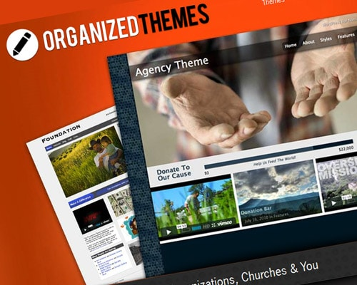 Organized Themes Has WordPress Theme For Your Church, Business or Organization