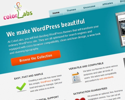 At ColorLabs, you will find dazzling WordPress themes that will transform your ordinary WordPress site.