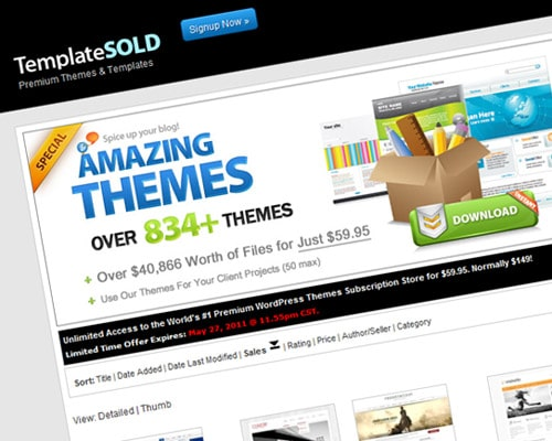 Buy & Sell Marketplace for Premium WordPress Themes, Website Templates and More!