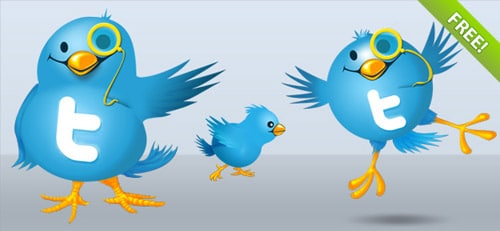 Free Twitter Icons | FREE PSD FILES