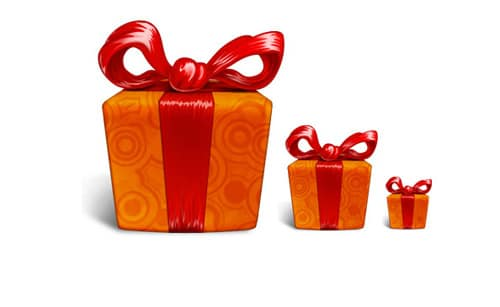 Sweet Gift Box | FREE PSD FILES