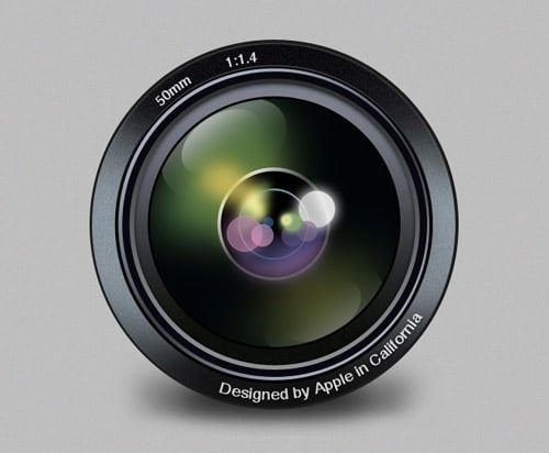 Aperture Replacement Icon PSD ‹ 365psd