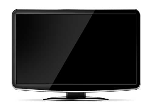 LCD HD TV template by psdGraphics
