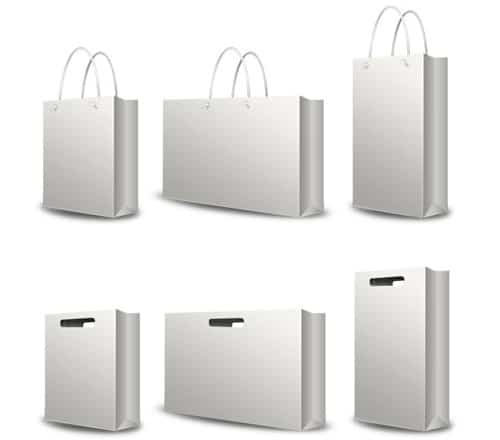 PSD Shopping Bag Set