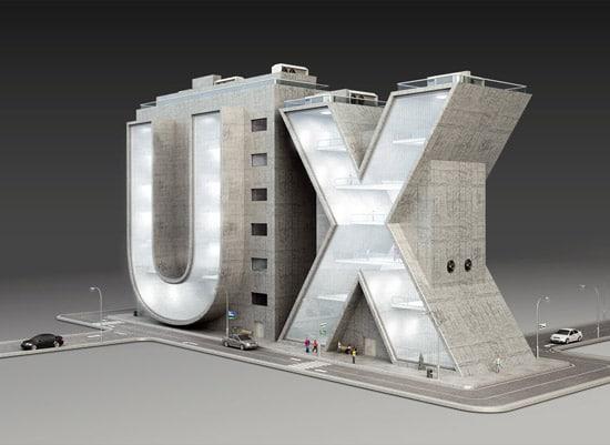UX 3D type