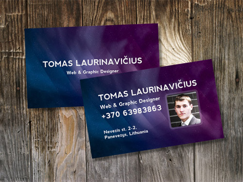 Business card design collection of 20 great tutorials designrfix how to make a space themed business card in photoshop reheart Image collections