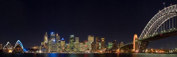 Dual screen wallpaper - Cityscapes
