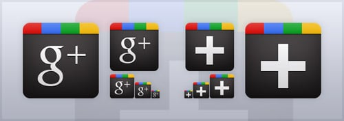 Free Google Plus Icon Vector
