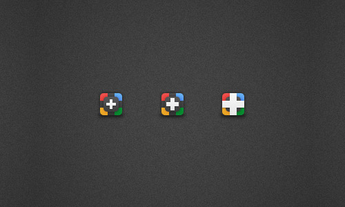 Google Plus Icons by Matt Sellers