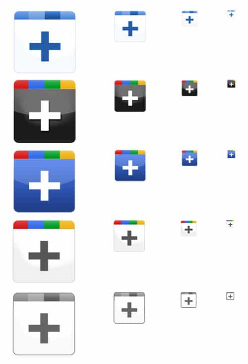 Freebie: Google+ Icon Set » bohncore