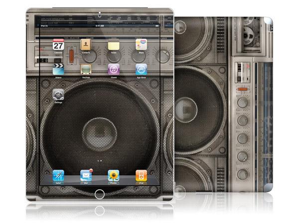 gelaskins.com - Lyle Owerko - Boombox - iPad 2