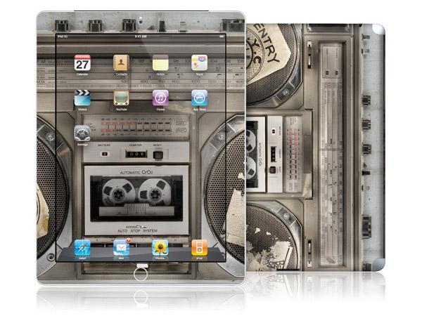 gelaskins.com - Lyle Owerko - Boombox II - iPad 2