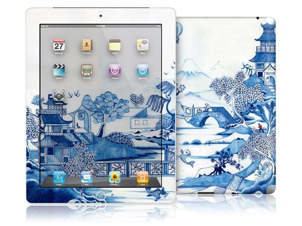 gelaskins.com - Colin Thompson - Blue Willow - iPad 2