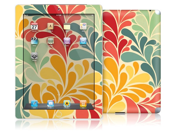 gelaskins.com - Cosmo  Cricket - Sea Garden - iPad 2