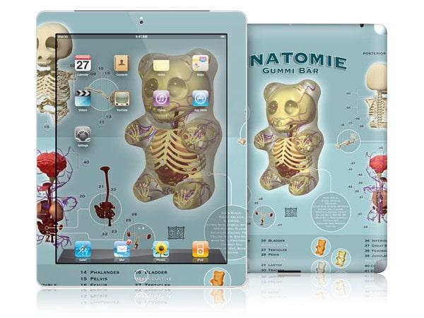 gelaskins.com - Jason Freeny - Gummi Anatomie - iPad 2
