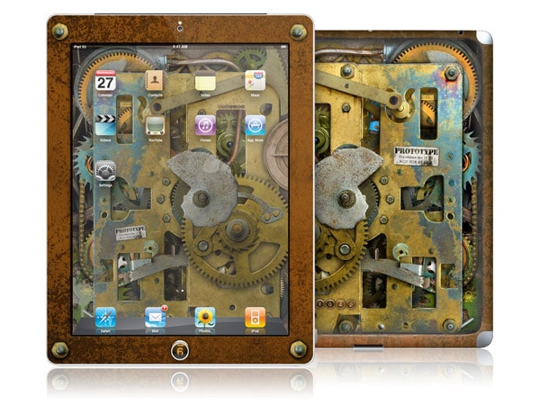 gelaskins.com - Colin Thompson - Steampunk - iPad 2