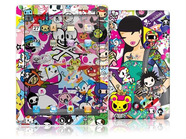 gelaskins.com - tokidoki - Discoteca - iPad 2