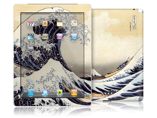 gelaskins.com - Katsushika Hokusai - The Great Wave - iPad 2