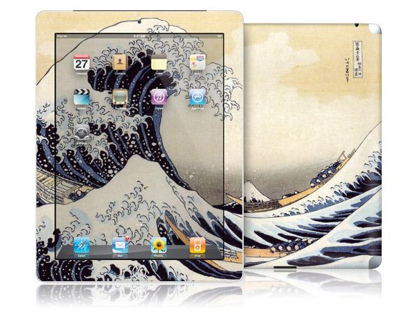 gelaskins.com - Katsushika Hokusai - The Great Wave - iPad 2