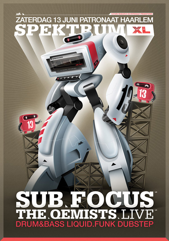 Spektrum XL 13 - Sub Focus & The Qemists