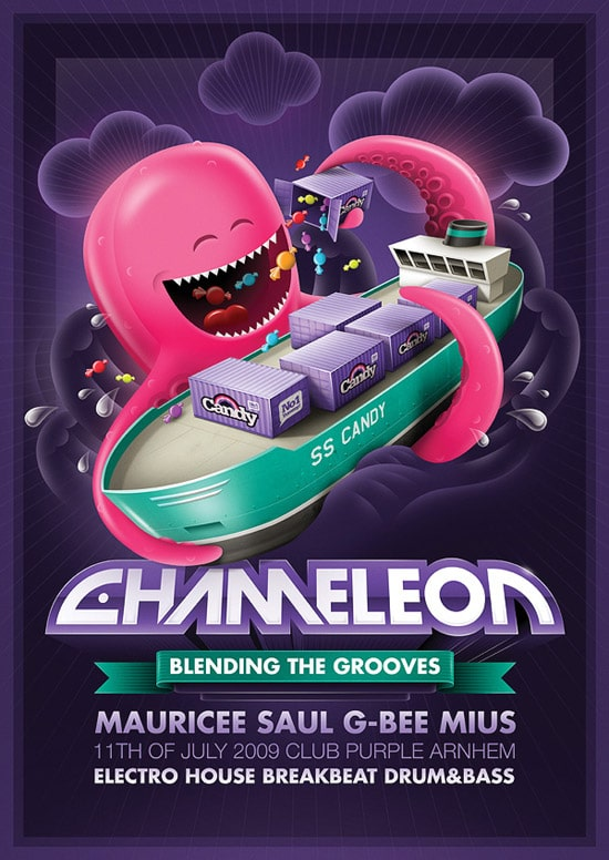 Chameleon - Octopus flyer