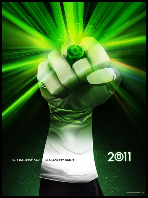 Signalnoise 'Green Lantern' poster