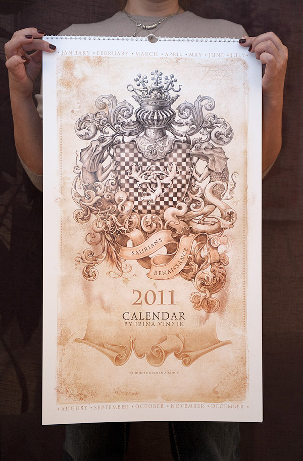 Saurians Renaissance (Calendar 2011)