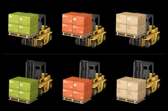 Container Icon Set