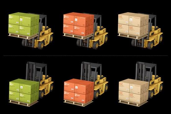Container Icon Set