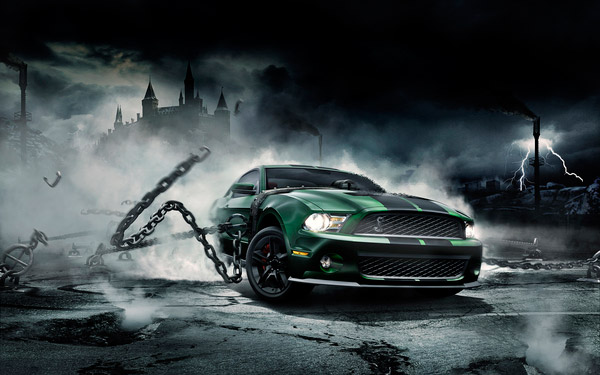 CG Mustang Monster