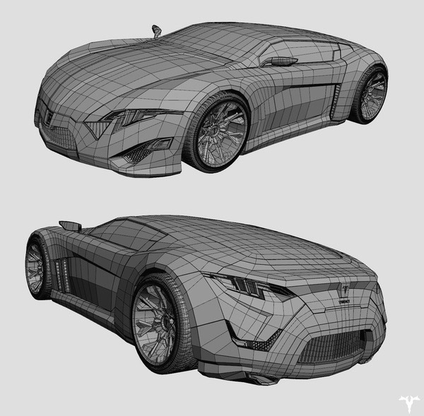 "INFERNO - CONCEPT CAR ""THE VERDICT"""