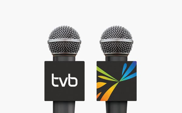Corporate and brand identity TVB