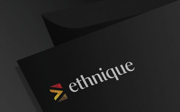 Corporate and brand identity Ethnique