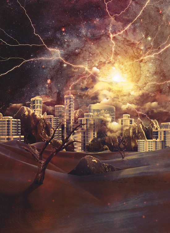 Create a Dramatic and Surreal Apocalyptic Scene Photoshop Tutorial