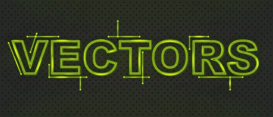 Create a Glowing Fluorescent Text Effect | VforVectors