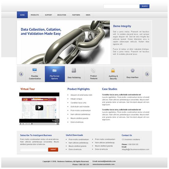 Corporate Business – Design a Modern & Stunning Web Layout