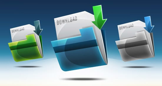 Create a Download Folder Icon in Photoshop