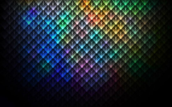 How to create abstract kaleidoscope poster in Photoshop CS5