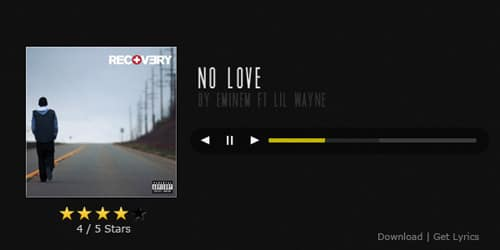 UI Quick Tip Series :: Music Player Interface