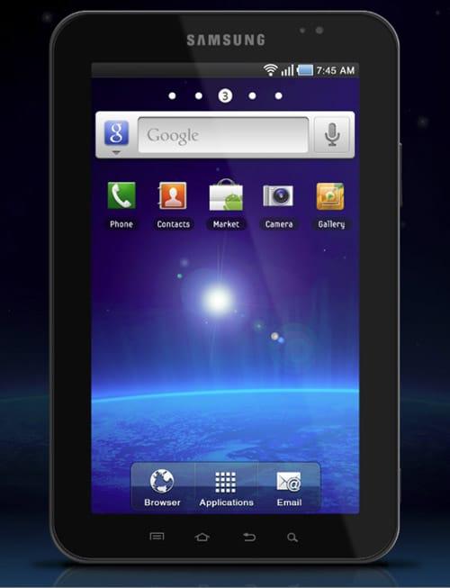 Samsung Galaxy Tab PSD