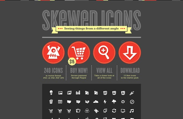 skewedicons.com