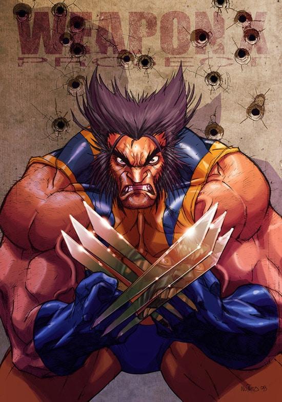 Wolverine by MiaCabrera