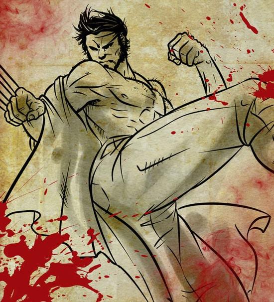 Wolverine sketch by Blumoonx06x