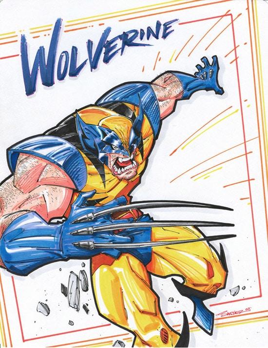 Wolverine BEZERKER SNOOOCH by Steven Sanchez