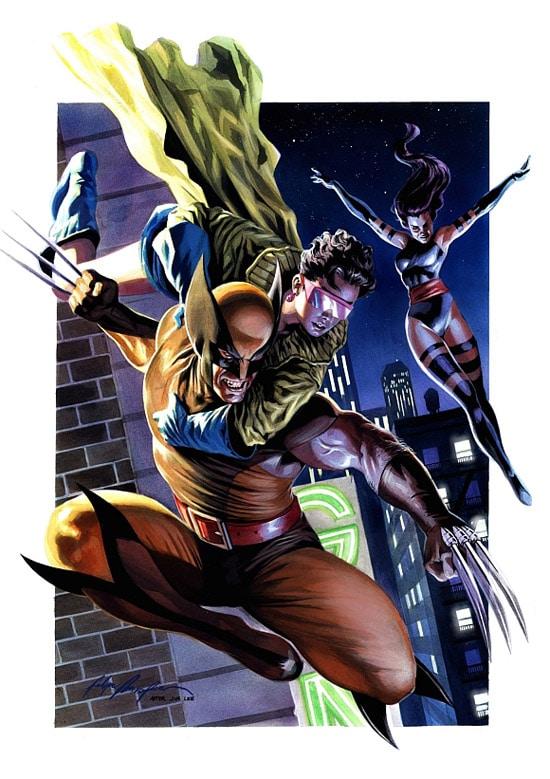Wolverine recreation by felipe massafera