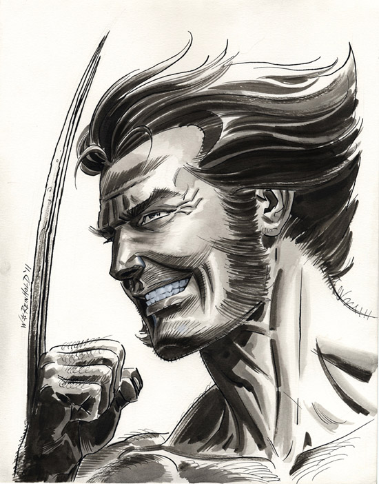 Wolverine Again by BillReinhold