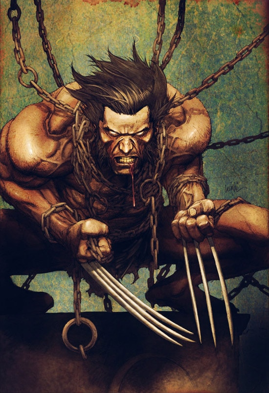 Leinil yu Wolverine color 4fun by MSpicer76