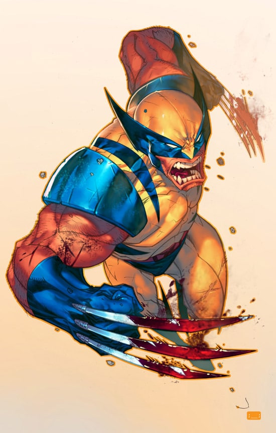 Jonboy's Wolverine by david-grier