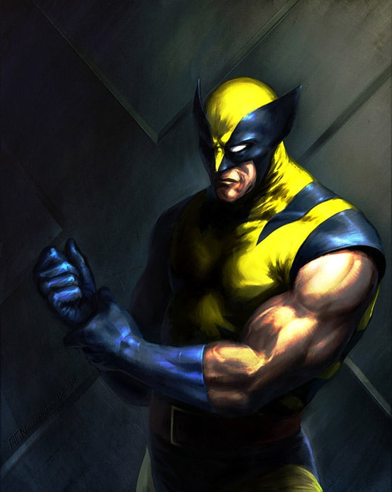 Classic Wolverine by AGNakamura